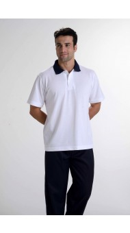 Camiseta Polo Gola Azul Marinho