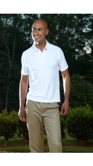 Camiseta Polo Masc Branca