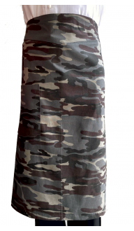 Avental Cintura CMF Cinza