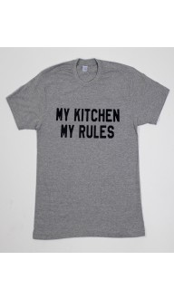 Camiseta Masculina MY KITCHEN MY RULES