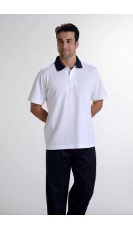 Camiseta Polo Gola Azul Marinh